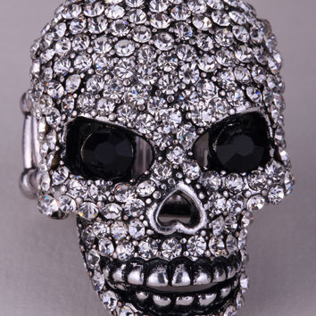Skull stretch ring W moving jaw