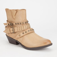 Report Kolton Womens Boots Stone  In Sizes
