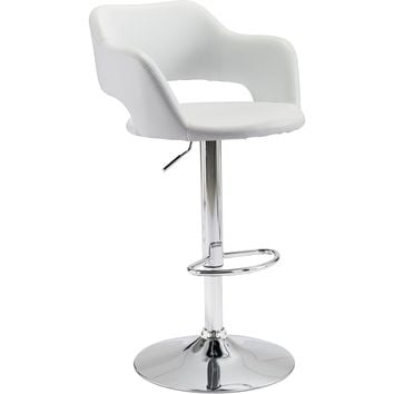 Hysteria Bar Chair, White