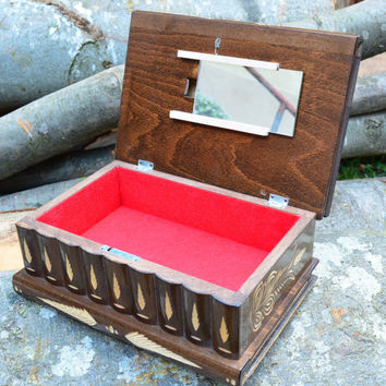 The LARGEST PUZZLE BOX on Etsy secret compartment box wedding gift memory box trick box brain teaser handmade jewelry box treasure chest