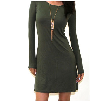 Loose Shift Dress