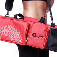 Yoga EVO Yoga Mat Bag with Open Ends - Keeps Your Mat Dry and Odorless - All-in-One Workout Equipment Bags