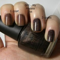 OPI: Lacquer NLB59 My Private Jet, 0.5 oz