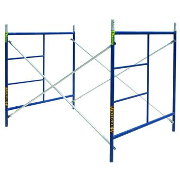 MetalTech Saferstack 5 ft. x 5 ft. x 7 ft. Scaffold Set-M-MFS606084-A - The Home Depot