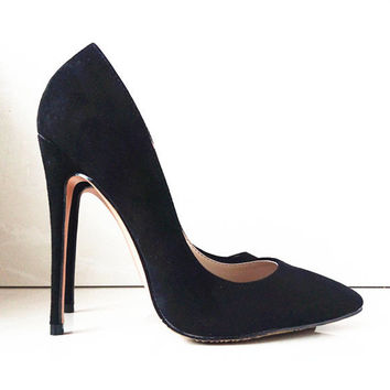 Brands Pointed Toe Suede Apricot Bottom High Heels Fashion Sexy 10cm High Heel Shoes Women Pumps wedding shoes Pumps C-787