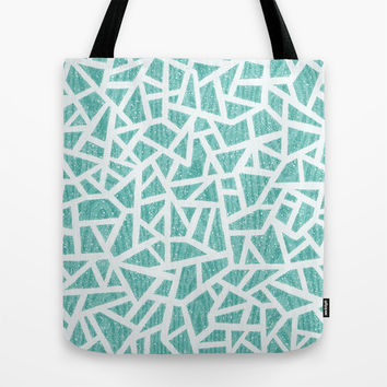Ice Shelves. Tote Bag by Nick Nelson