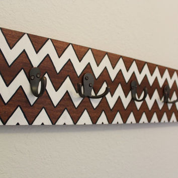Chevron Wall Coat Hanger