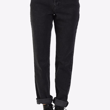 Cougar Mom Jeans By Ragged Priest - Charcoal