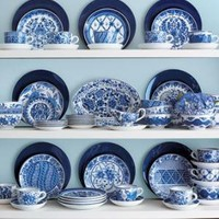 Blue & White Dinnerware-Horchow