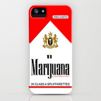 Marijuana Strong herbal cigarettes Red Pack apple iPhone 4 4s, 5 5s 5c, iPod & samsung galaxy s4 case