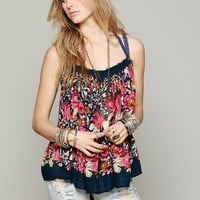 Free People FP ONE Living Large Floral Tank