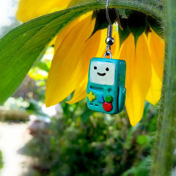 BMO Earrings by ITSCLAYDAY on Etsy