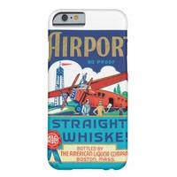 Airport Straight Whiskey Boston Massachusetts Cool Barely There iPhone 6 Case
