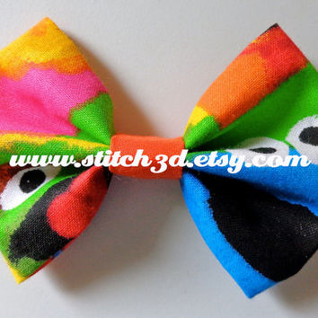 Sesame Street characters Hair Bow or bow tie