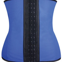Gym Work Out Waist Trainers Blue Md