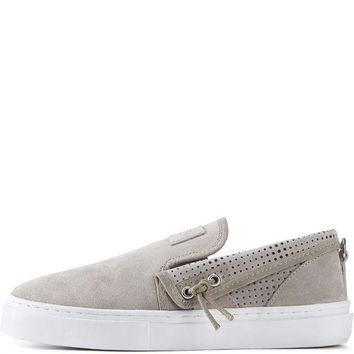CREYI7E Clear Weather for Men: Lakota in Goat Slip-On Sneakers