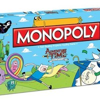 Monopoly: Adventure Time Collector's Edition:Amazon:Toys & Games