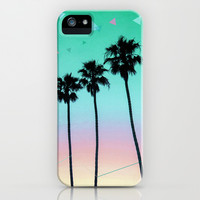 Palm Trees 4 iPhone & iPod Case by Mareike Böhmer Graphics
