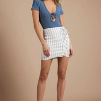 Be That Girl Lace Up Skirt