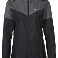Nike Performance VAPOR - Sportsjakke - black/dark grey/volt/reflective silver - Zalando.no