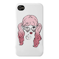 bubblegum kiss -- iphone 4/4s and 5 case | hudiefly
