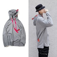 Long Sleeve Hats Pullover Hoodies Hip-hop Jacket [272618160157]