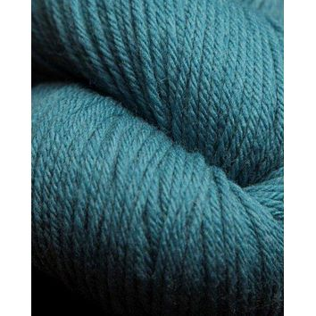 Jagger Spun Super Lamb 4/8 Worsted Weight Cone - Peacock