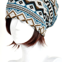 Tribal Beanie from ohsosessy