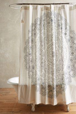 Curtains Ideas anthropology shower curtain : Eastern Emblem Shower Curtain by from Anthropologie | Apartment