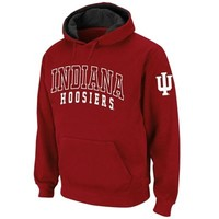 Indiana Hoosiers Double Arches Pullover Hoodie - Crimson