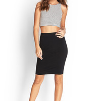 FOREVER 21 Knit Pencil Skirt