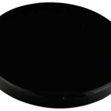 "3"" Black Obsidian scrying mirror"