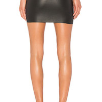 SPRWMN Stretch Mini Skirt in Black | REVOLVE