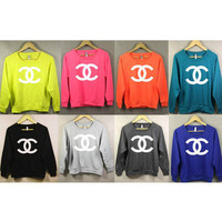 Chanel Inspired Sweatshirt