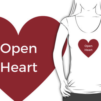 Open Heart by IdeasForArtists