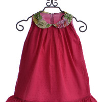 Persnickety Isabelle Dress in Raspberry