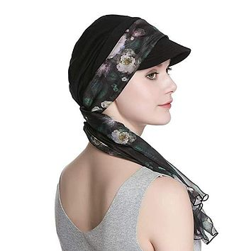 Women's Leti Hat and Scarf Set