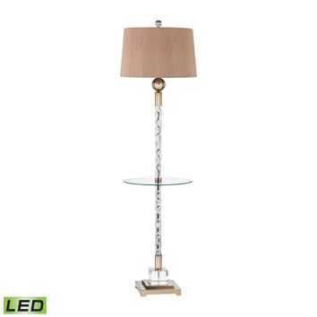 Brooke LED Floor Lamp Champagne Gold