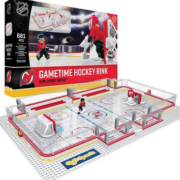 New Jersey Devils Full Rink Set OYO Playset