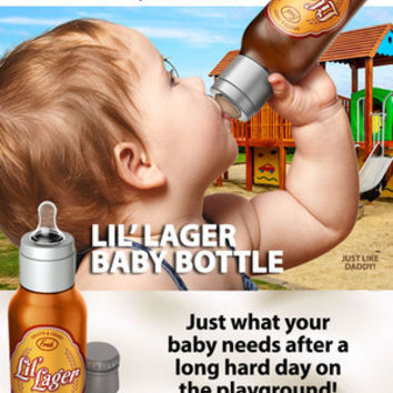 LIL' LAGER BABY BOTTLE