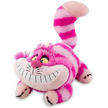 Alice in Wonderland Cheshire Cat Plush Toy 50cm 20'' Cute Stuffed Animal Soft Cat Pillow Kids Girls Toys for Children Gifts