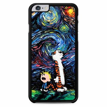 Van Gogh Calvin And Hobbes iPhone 6 Plus / 6S Plus Case
