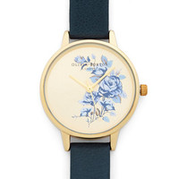 Olivia Burton Luxe Flowers Fly By Watch