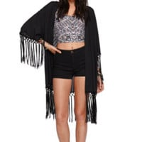 Kendall and Kylie Fringe Kimono at PacSun.com