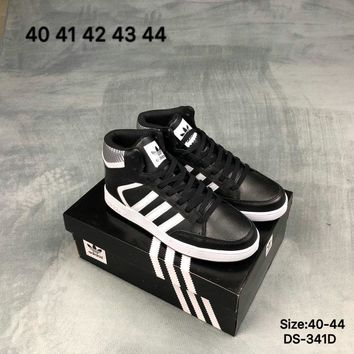 Adidas VARIAL MID Men Women High-Top Fashion Casual Shoes Black/White 2 Colors