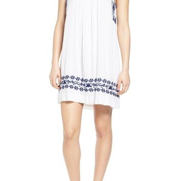 Lucky Brand Embroidered Shift Dress | Nordstrom