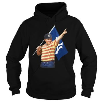 New York Yankees Flag with Chicago Cubs Hoodie