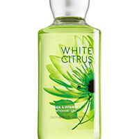 Bath and Body Works Shea Enriched Shower Gel New Improved Formula 10 Oz. (White Citrus)