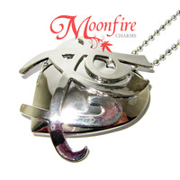 THE MORTAL INSTRUMENTS Fearless Rune Heart Locket Necklace