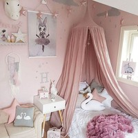 10 Colors Nordic Dome Bed Canopy